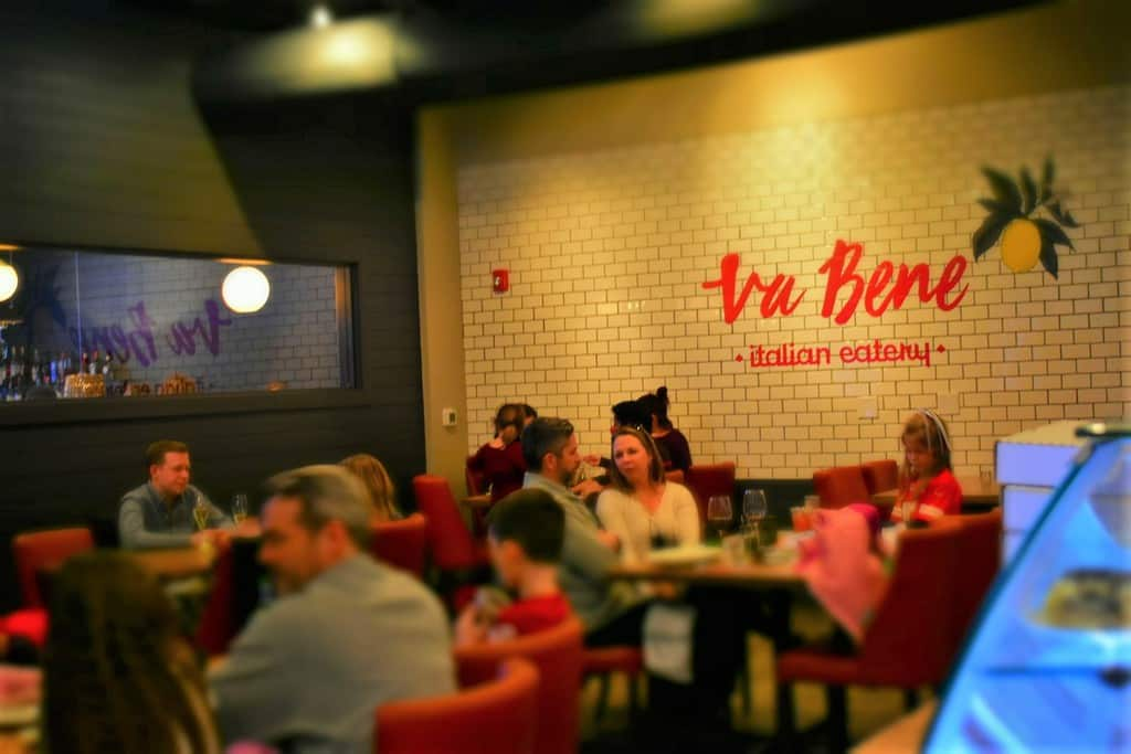 All is right at Va bene Italian Eatery in Kansas City.