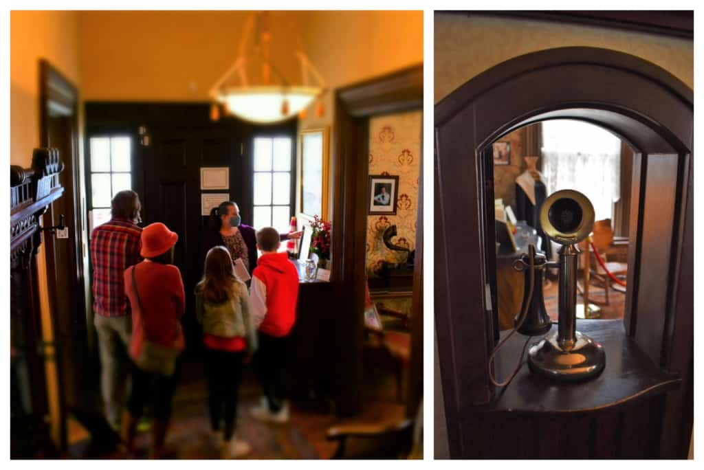 A visit to the Amelia Earhart Birthplace Museum offers guests a glimpse inside of the place she spent her childhood.