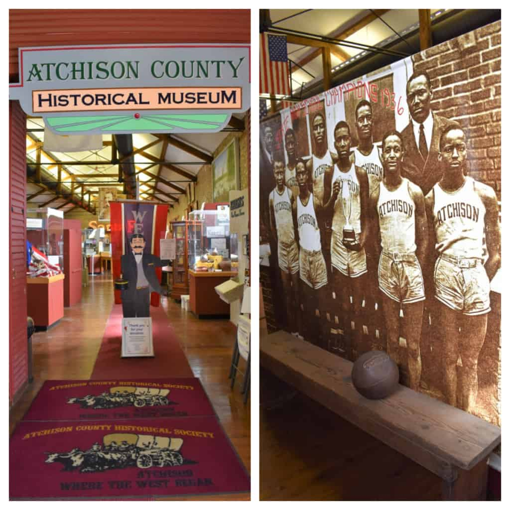 The Atchison County Historical Museum is a good place to learn about the people who have called this city home.