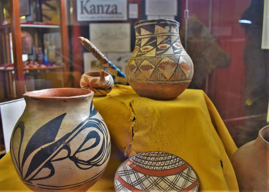 The Kanza indians were some of the first people to call the region around Atchison home.