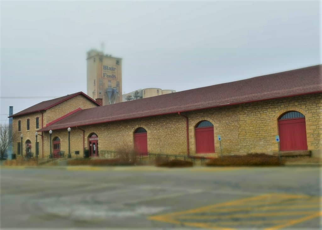 The old Santa Fe Station has been converted into a local history museum.