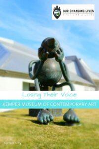 Losing heir voice-Kemper Museum of Contemporary Art-native Indian-Dyani Hawk-modern art-artist-Kansas City