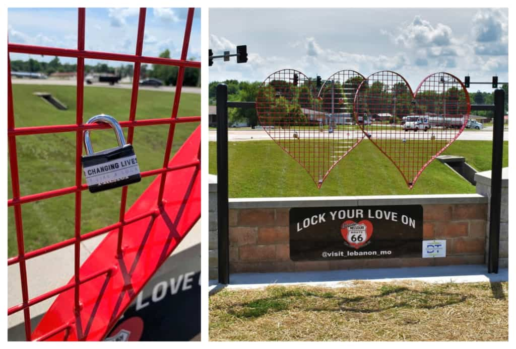Having an opportunity to add our lock to the new Route 66 feature was an amazing experience.