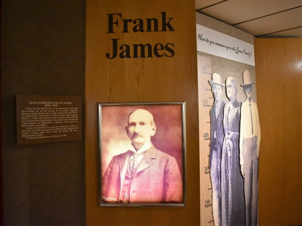 Frank James lived a storied life filled with bushwhacking and bank robberies.