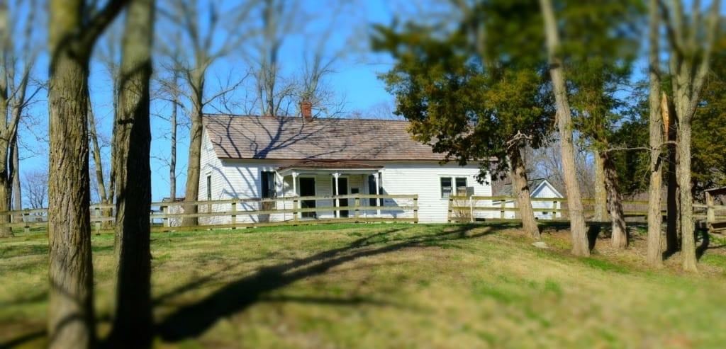 You can step into history with a visit to the Jesse James Farm near Kearney, Missouri.