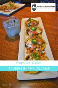 Pops of Color-Tavern in the Village-Happy Hour-Kansas City restaurant