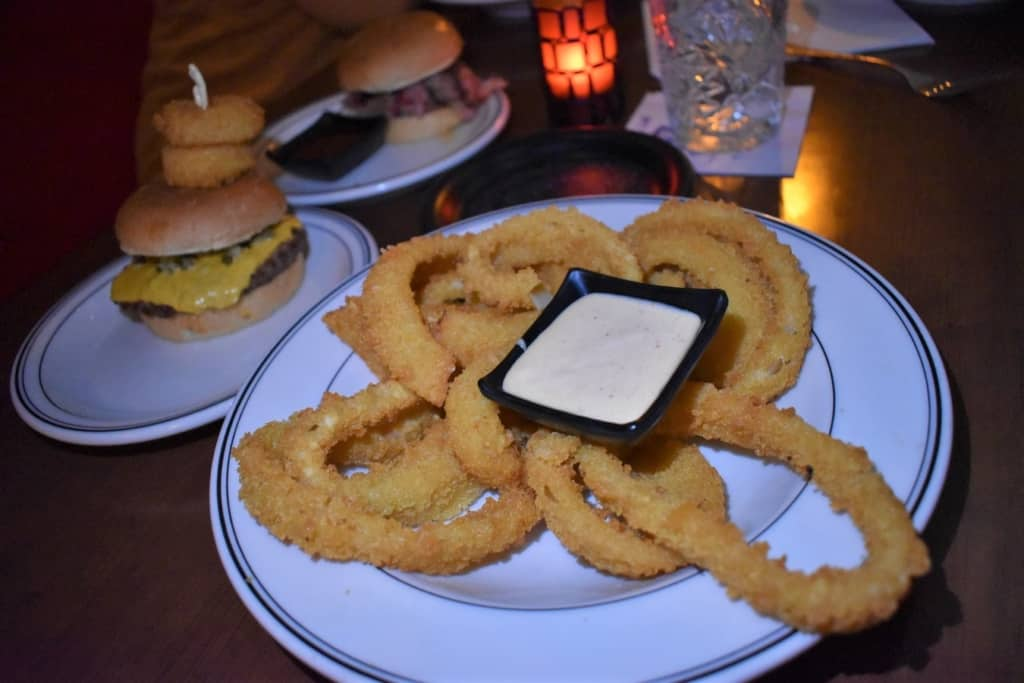 Crispy onion rings are hard to beat for a great side dish.