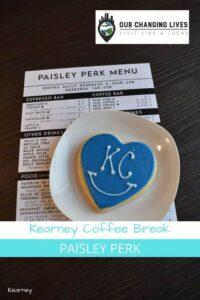 Kearney coffee break-Paisey Perk-coffee shop-breakfast-Kearney Missouri-eatery-quiche-cookie