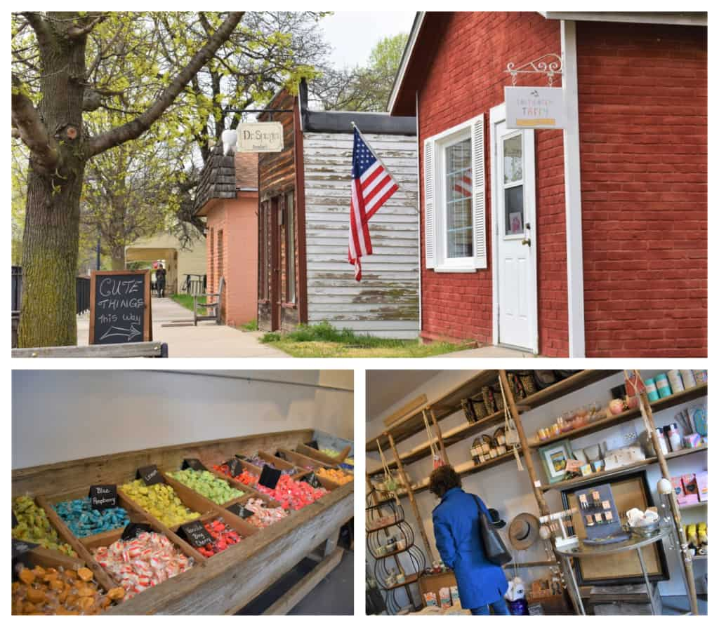 Cute boutique shops are a great place to find a variety of small town tastes and special gift ideas.