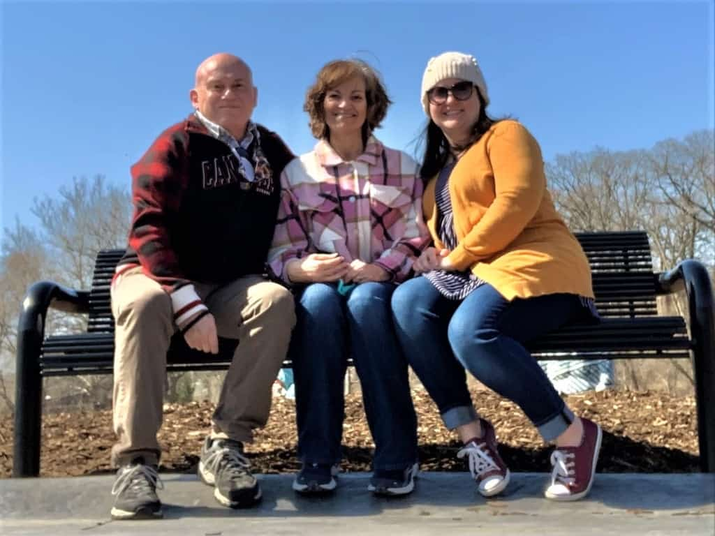 The authors are joined by their daughter for an excursion to Omaha, Nebraska.