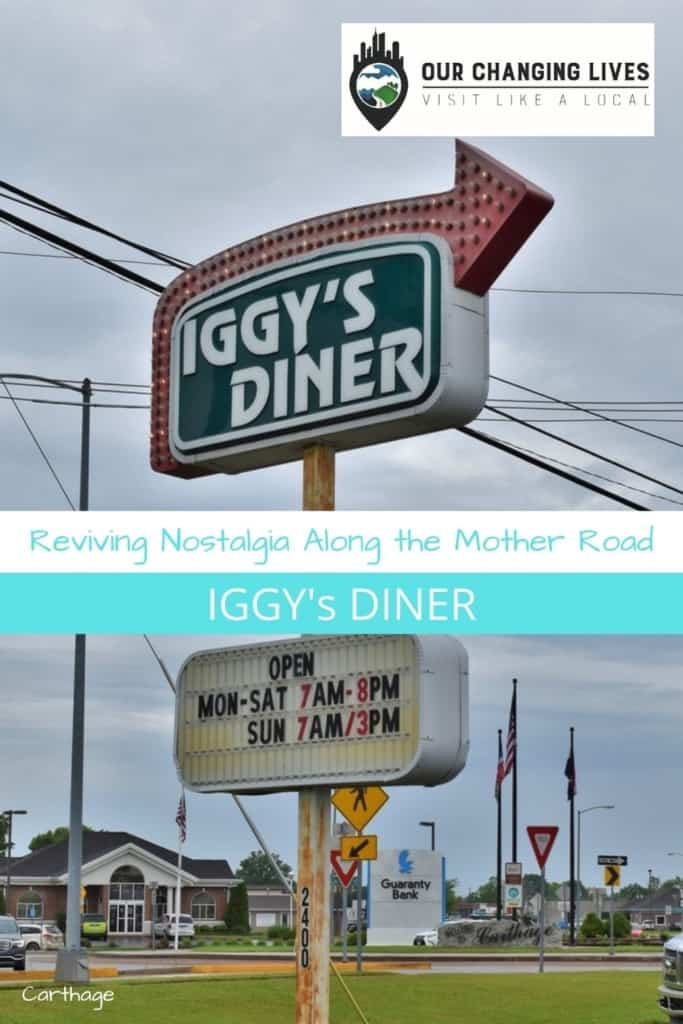 Reviving nostalgia along the Mother Road-Iggy's Diner-Carthage, Missouri-Route 66