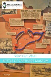 War Out West-Batle of Carthage Museum-Civil War- Carthage, Missouri