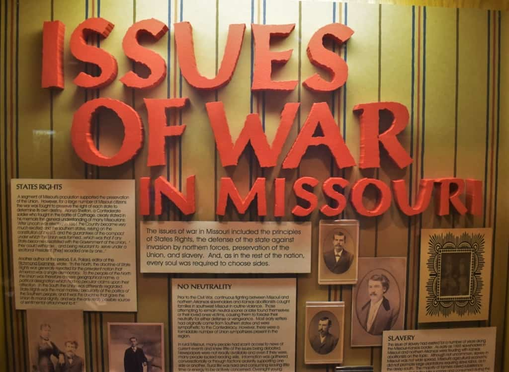 There were many issues that surrounded the war out west.