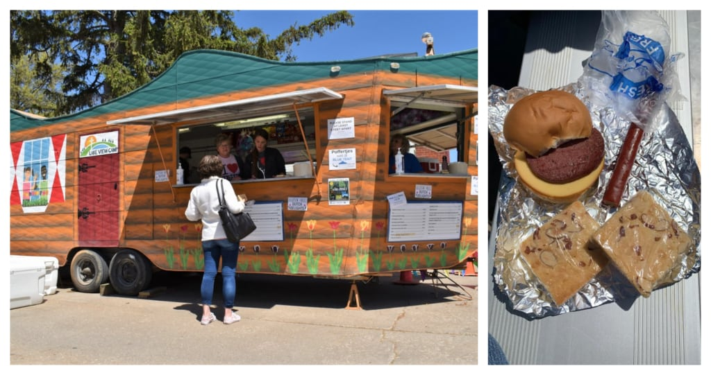 Food trucks were a great place to find Dutch dishes.