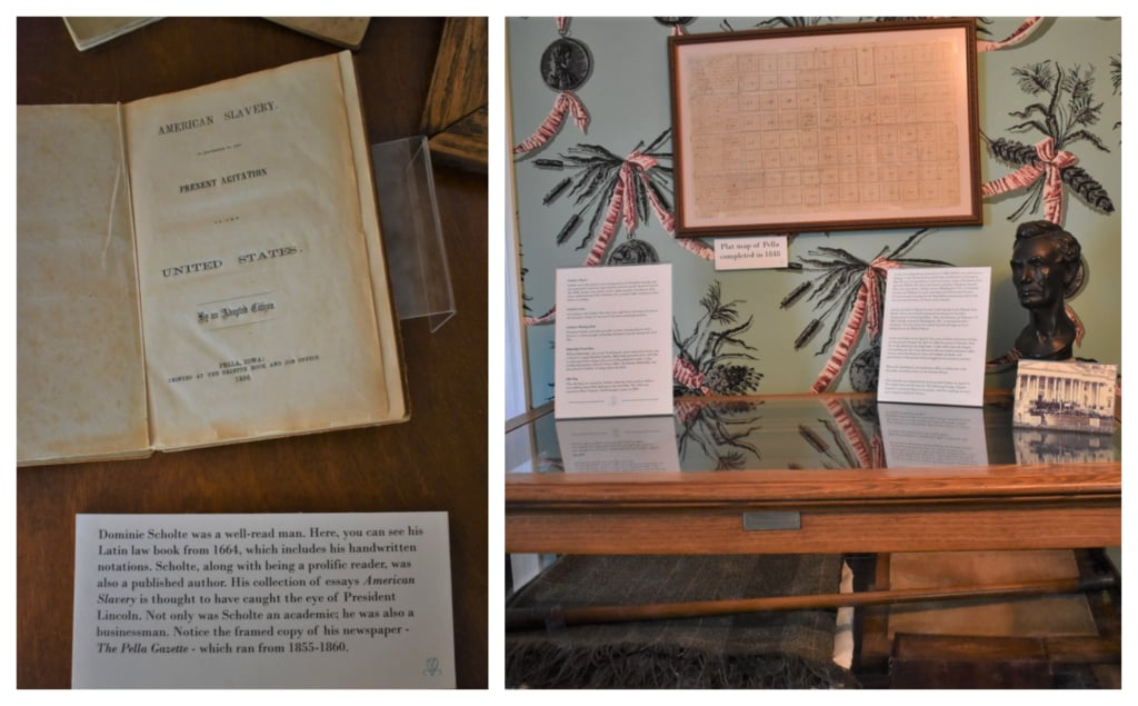In the Scholte House Museum, you will see one of the pamphlets written by Hendrik.