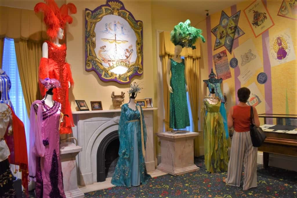 One of the galleries shares costumes from the all-women krewes.