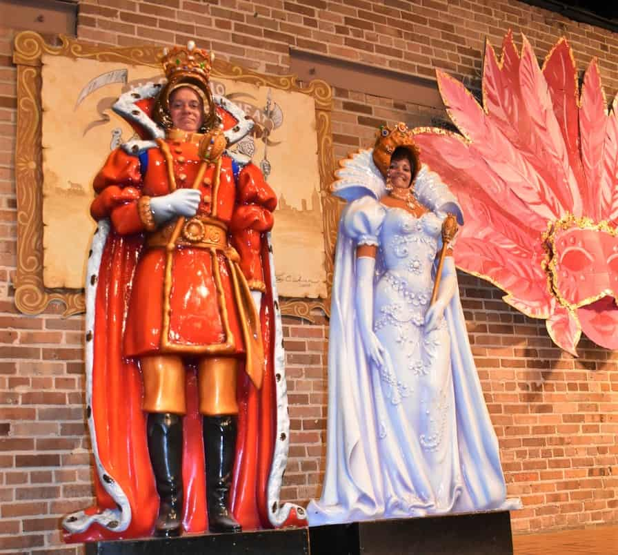 The authors take a turn at being king and queen of this party in the new World.