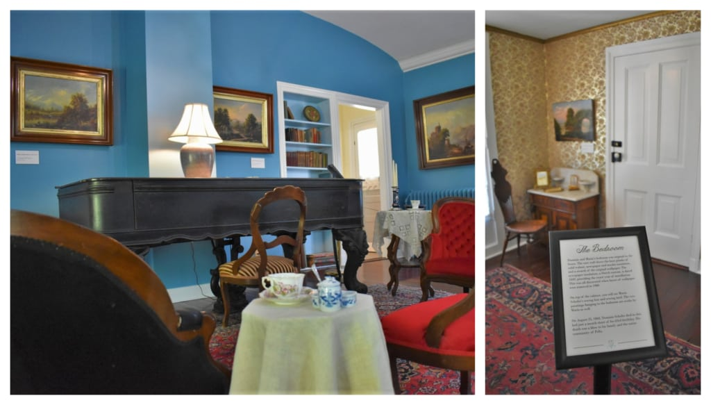 The Scholte House Museum is filled with period pieces from the Dutch family's life in Pella, Iowa.