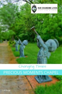 Changing Times-Precious Moments Chapel-Sam Butcher-art-Carthage, Missouri-Route 66