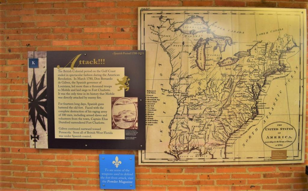 A map of the North American continent shows how British forces lost their space in the New World.