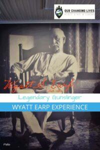 Legendary Gunslinger-Wyatt Earp Experience-lawman-OK Corral-Pella, Iowa-Tombstone-Dodge City