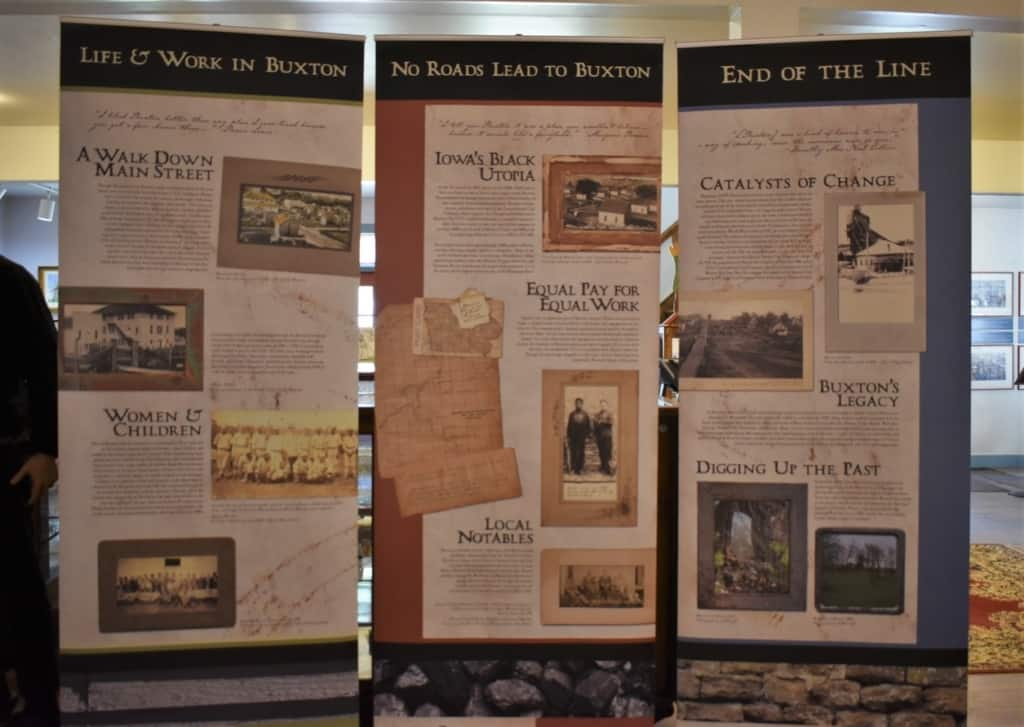 The authors learned about Buxton, Iowa's unique mining town story.