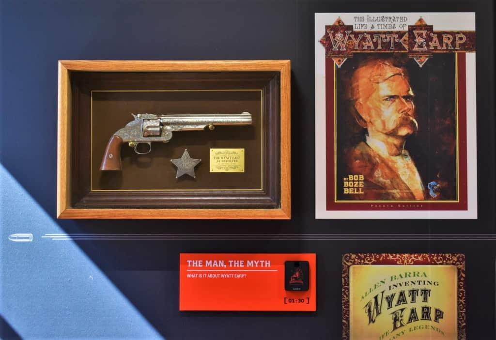 Wyatt Earp is a name synonymous with a legendary gunslinger.