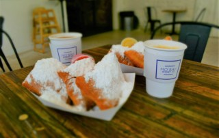The sugar pillows of delight are the mainstay of the menu at Mo'Bay Beignets Co.