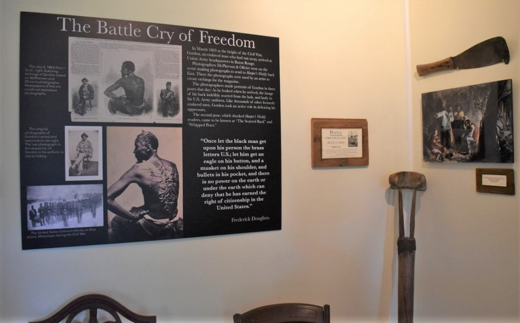 The 1811 Slave Revolt exhibit shows why so many of the enslaved saw life as a downward spiral.
