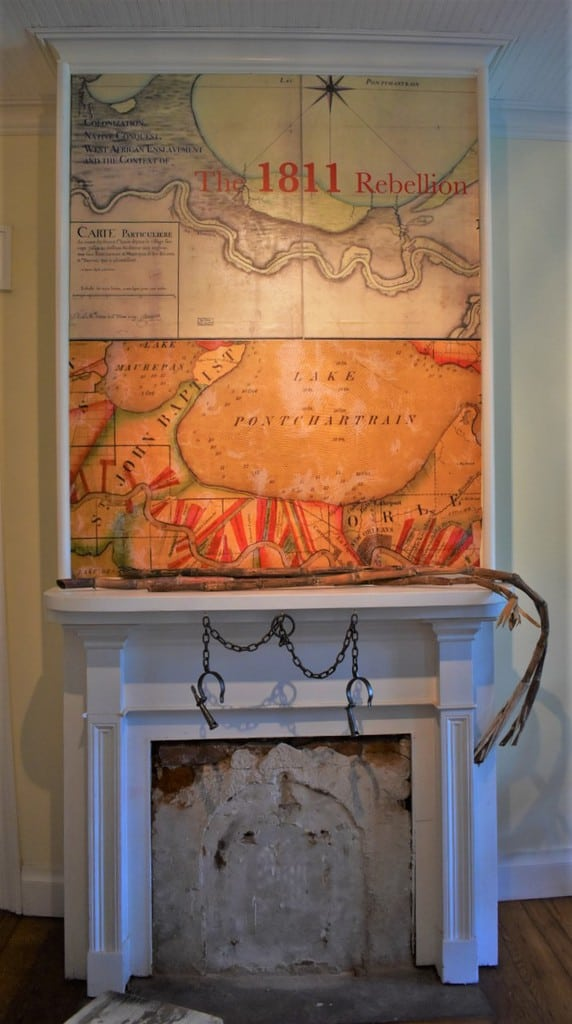 The 1811 Slave Revolt exhibit showcases the reasons behind the enslaved people reaching their breaking point.
