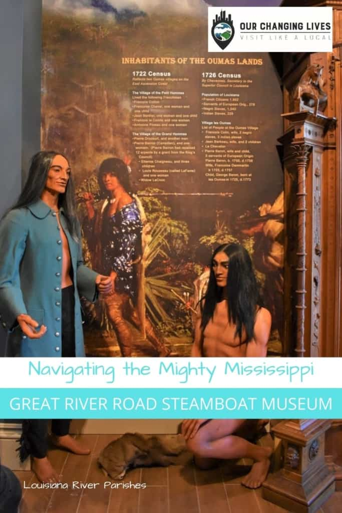 Navigating the Mighty Mississippi-Great River Road Steamboat Museum-Houmas House-Louisiana River Parishes