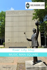 River City Stop-Music Man Square-Meredith Willson Boyhood Home-Mason City, iowa-The Music Man-The unsinkable Molly Brown