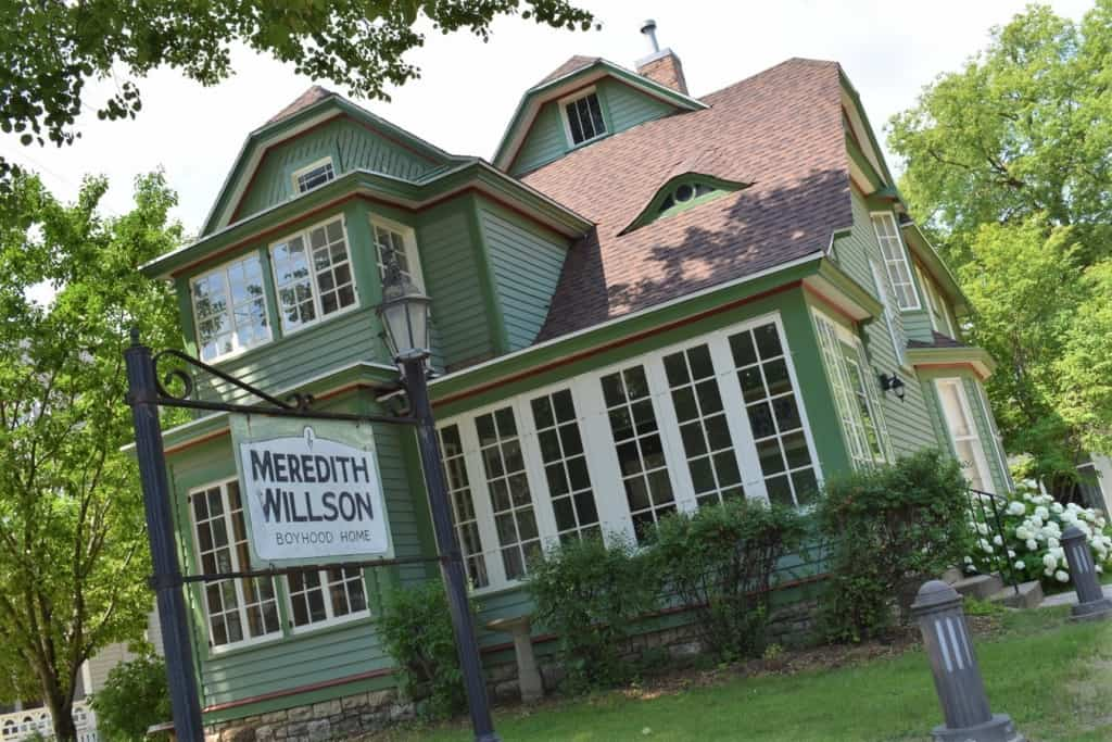 The Meredith Willson Boyhood Home is an historic house where the composer grew up.