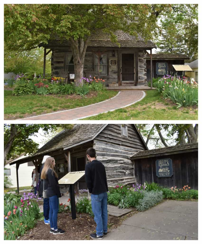Visitors to Pella can visit the oldest building in town.