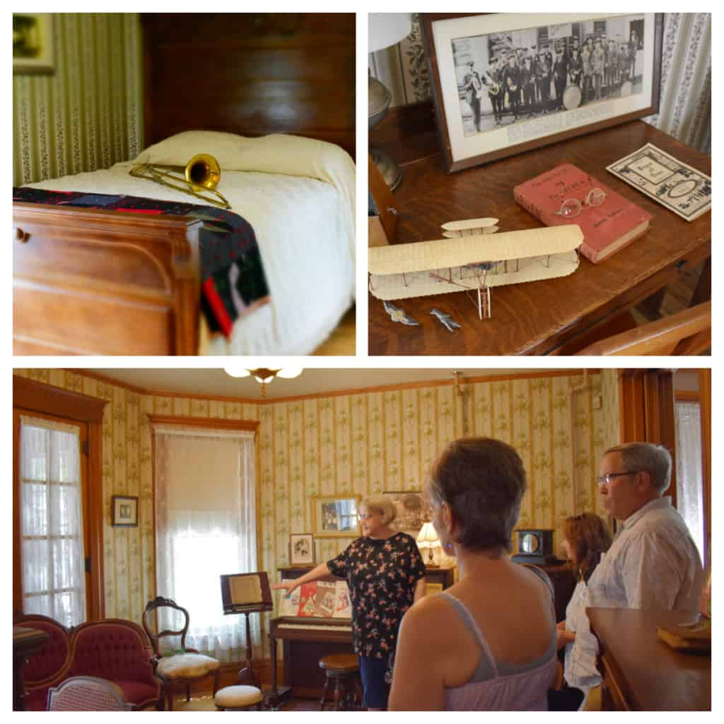 Tours of Meredith Willson's Boyhood Home included insight into his family life.