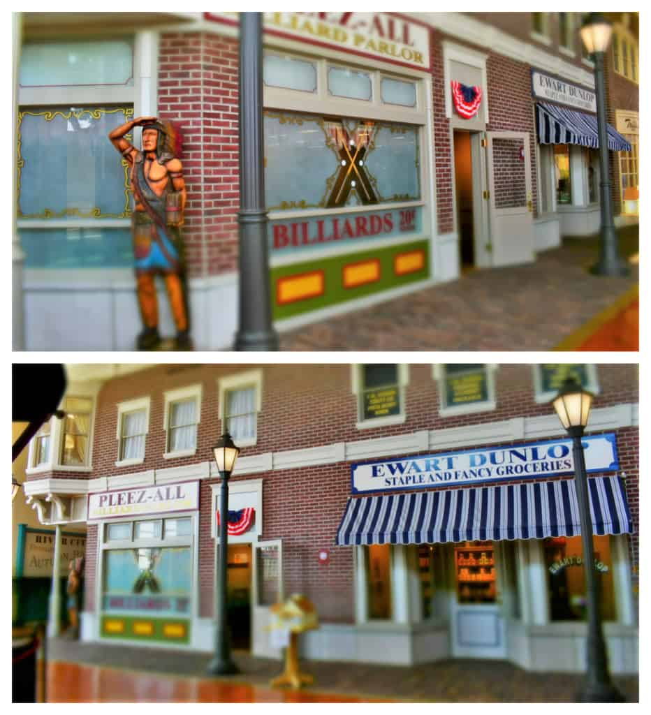 Music Man Square has a replica of a downtown Main Street from 1912.