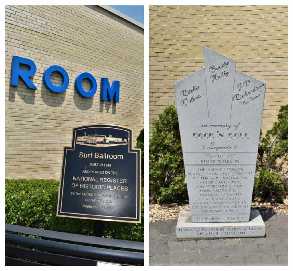 The Surf Ballroom is on the Historic Places Register and saw the end of an era during the 1950s.