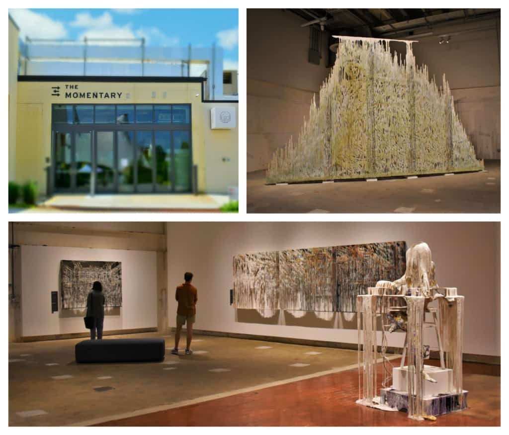 The Momentary is an artistic space funded by the Walton family.