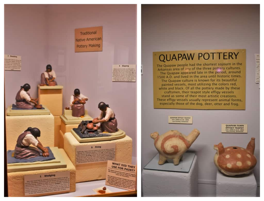 Pottery making was a huge artform for the Native American people.