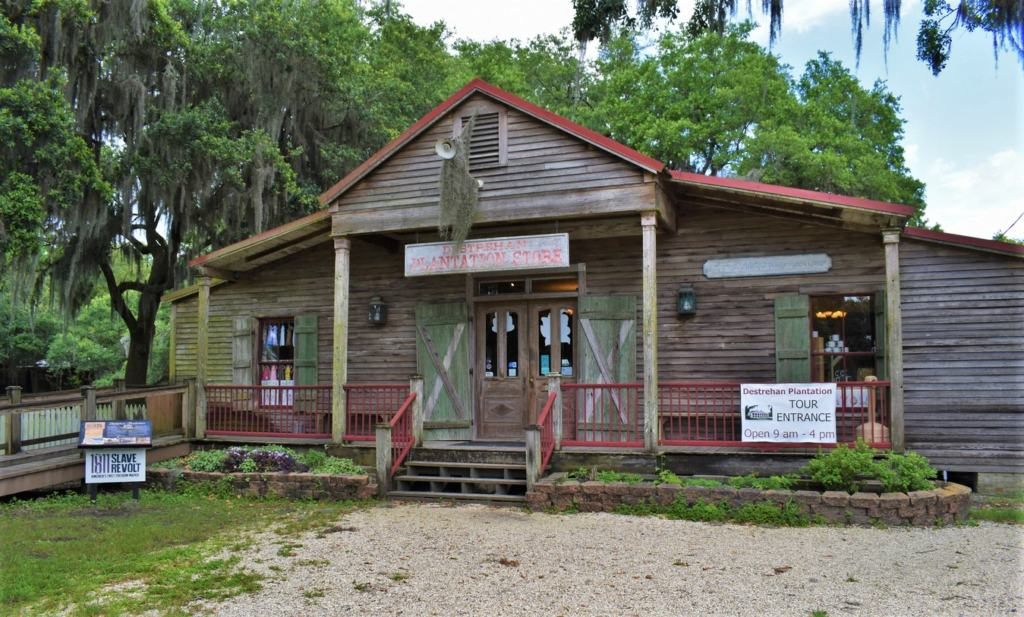 A visit to Destrahan Plantation includes viewing an assortment of historic structures.